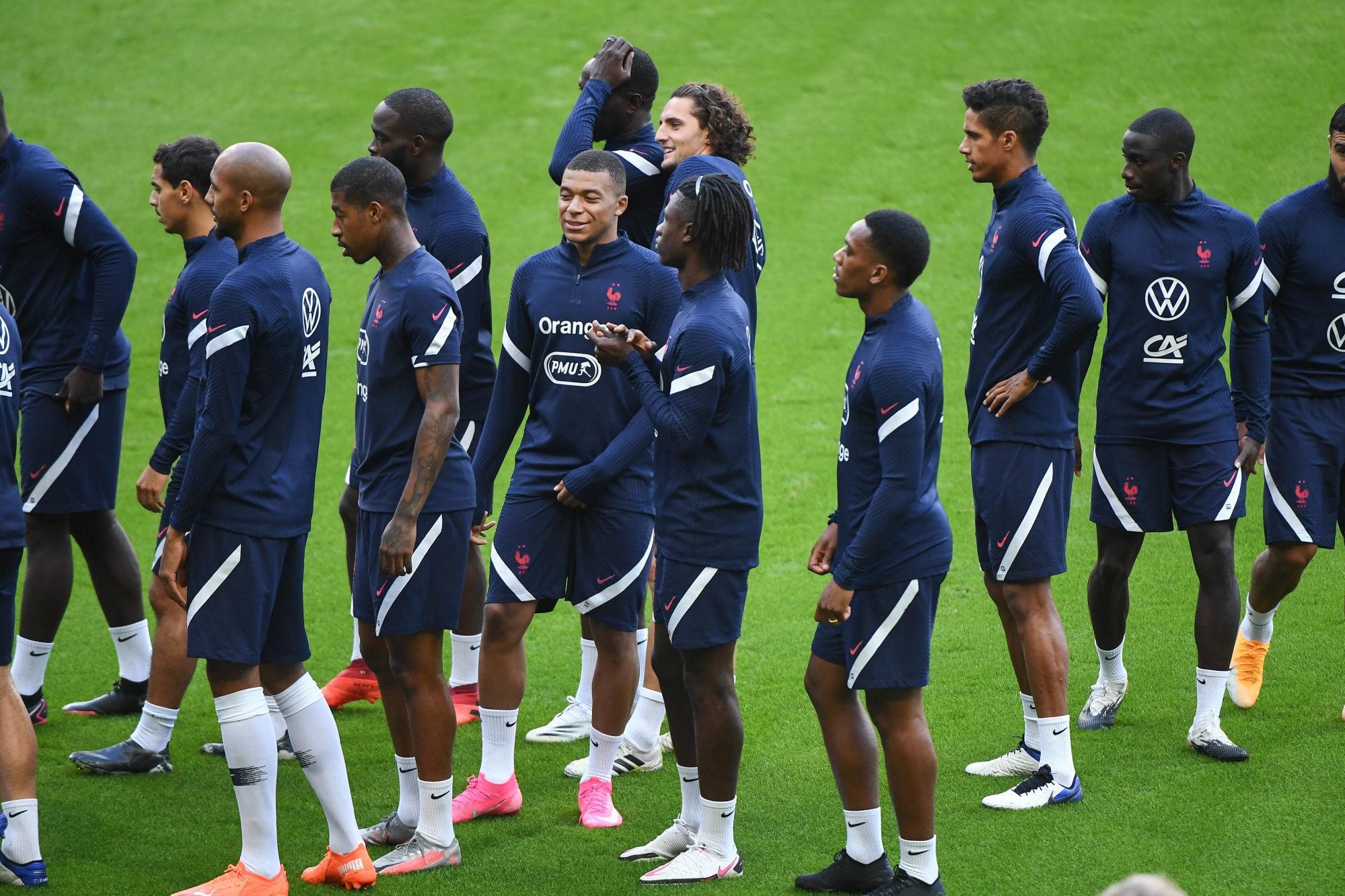 La liste de l'Equipe de France pour la trêve d'octobre, Mbappé et Kimpembe appelés