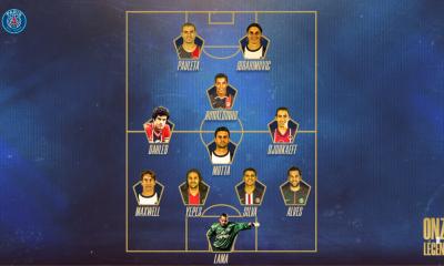 """Mbappé compose son """"équipe de légende"""" du PSG"""