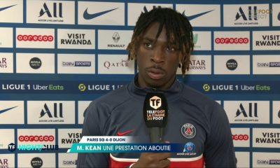 """Kean est content de la victoire et met en avant le """"travail"""" pour arriver à ses objectifs"""