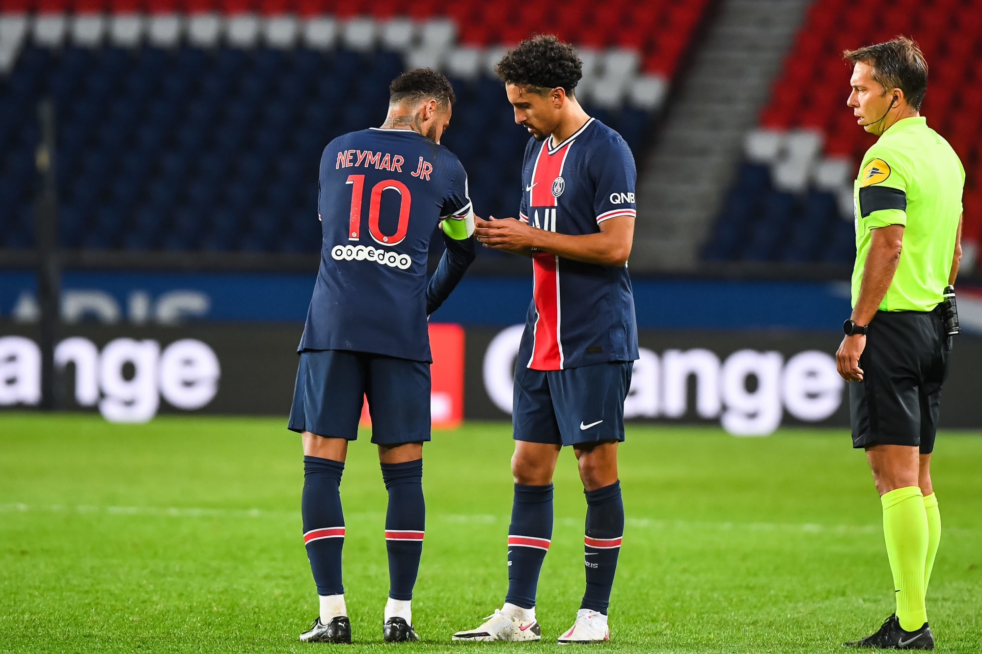 PSG/Dijon - Neymar a été capitaine pour la première fois avec Paris