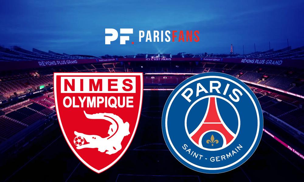 Nîmes/PSG - Les équipes officielles : Mbappé, Kean et Rafinha titulaires