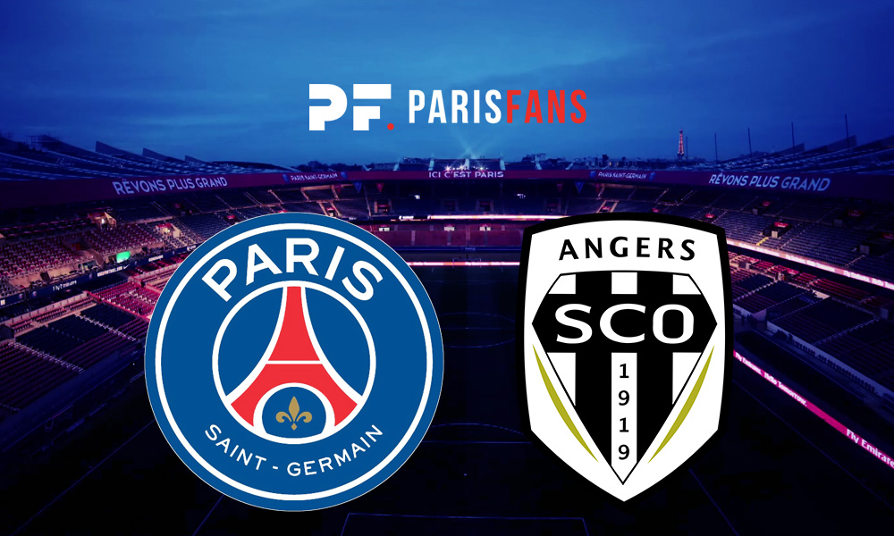 PSG/Angers - Le groupe angevin