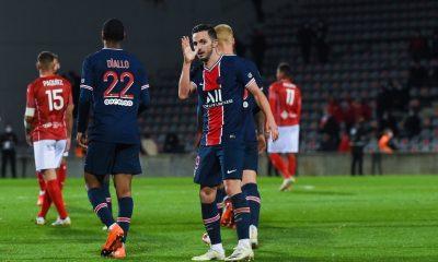 """Nîmes/PSG - Sarabia est """"content de cette victoire"""", c'est """"bon pour la confiance"""""""