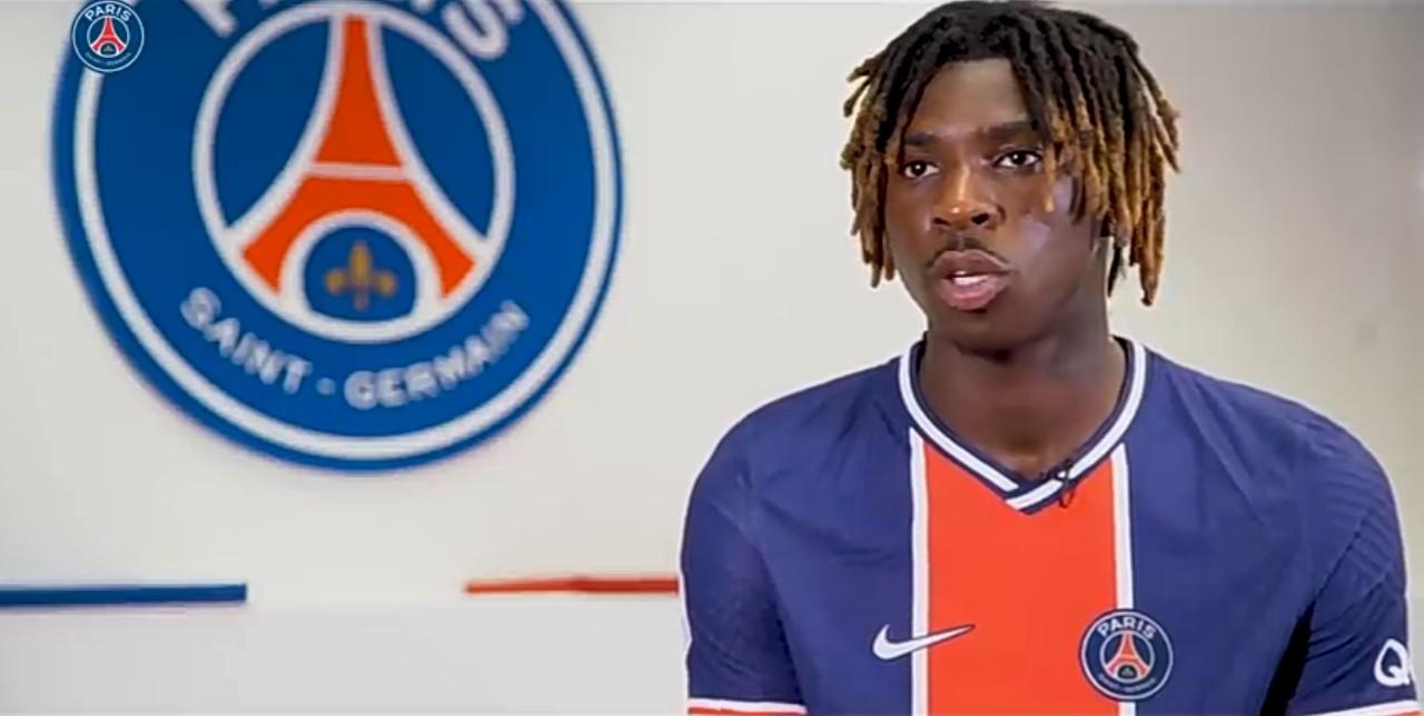 Moise Kean explique son choix de signer au PSG et annonce ses objectifs