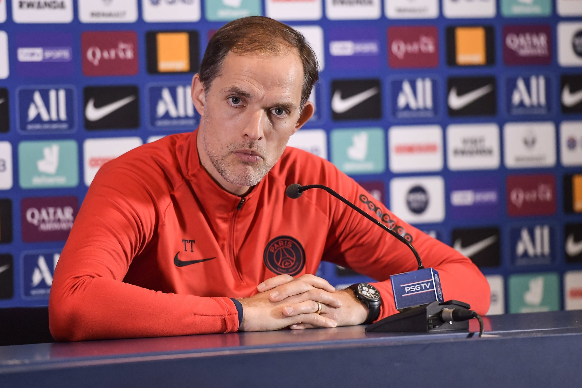 Nîmes/PSG - Tuchel annonce plusieurs nouveaux blessés et Herrera positif au coronavirus durant la trêve
