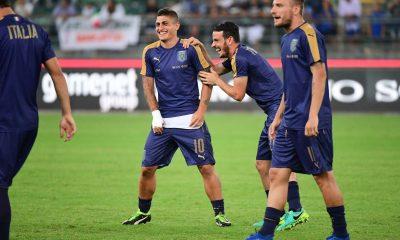 Verratti, Florenzi et Kean appelés avec l'Italie pour la trêve internationale d'octobre