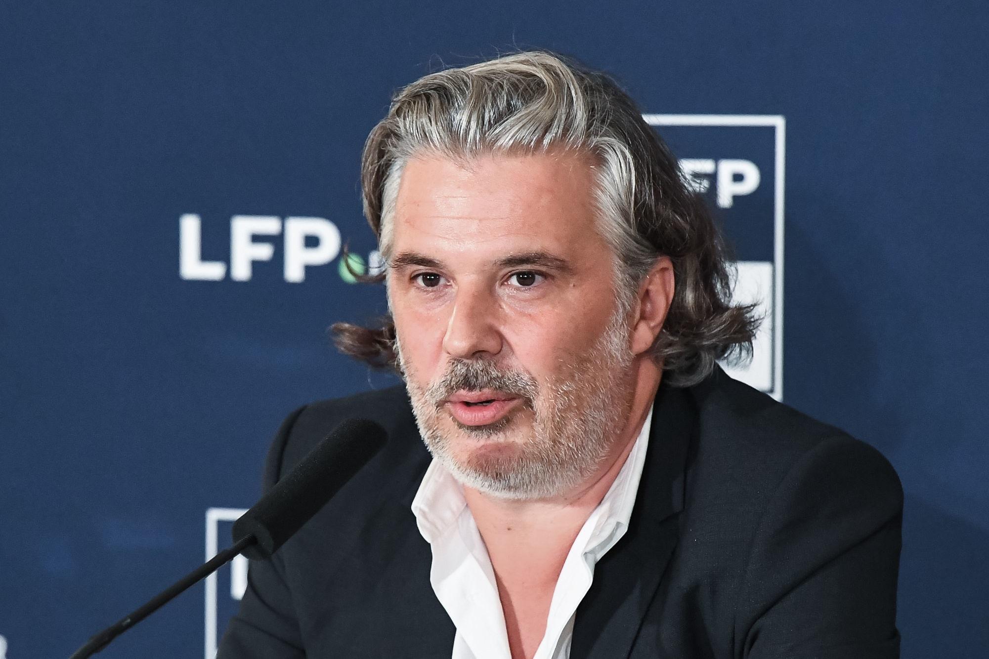 Labrune évoque le problème avec Mediapro et le besoin de progrès de la Ligue 1 en Europe