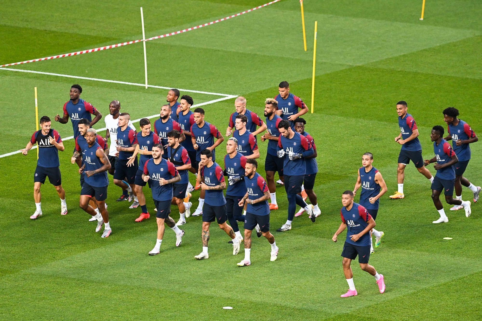 Nîmes/PSG - Suivez le début de l'entraînement des Parisiens ce jeudi à 17h