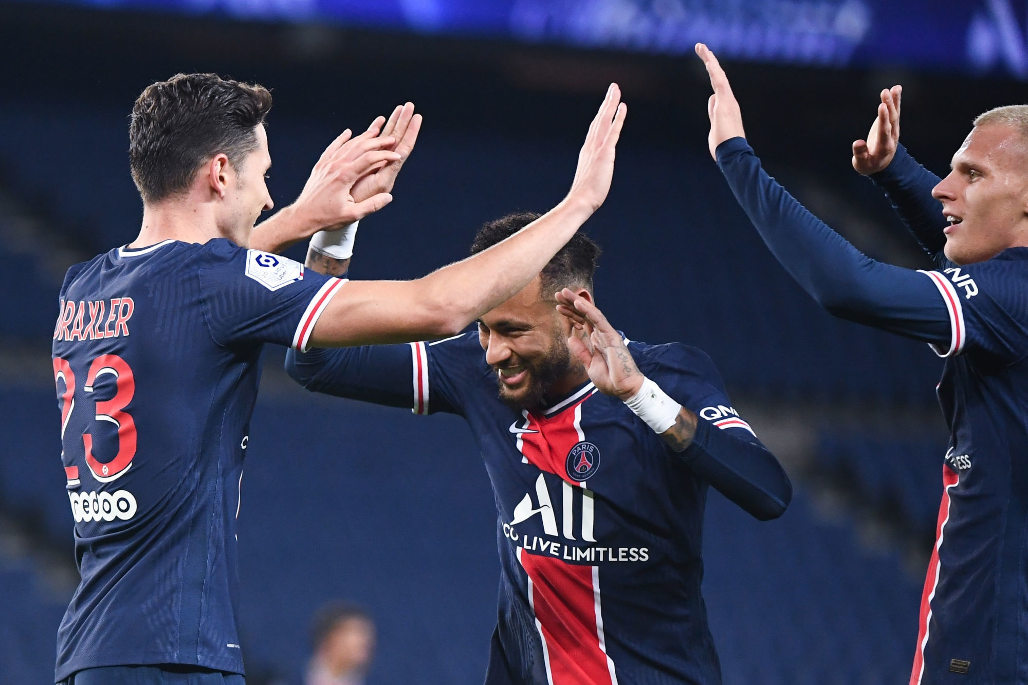 PSG/Angers - Les notes des Parisiens dans la presse : Neymar au-dessus d'une équipe moyenne