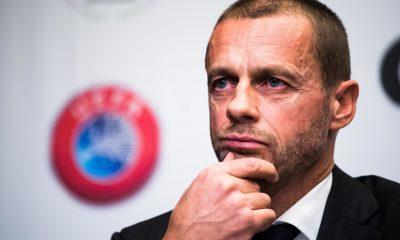"""Ceferin affirme que la Super Ligue n'est """"pas une idée sérieuse"""""""