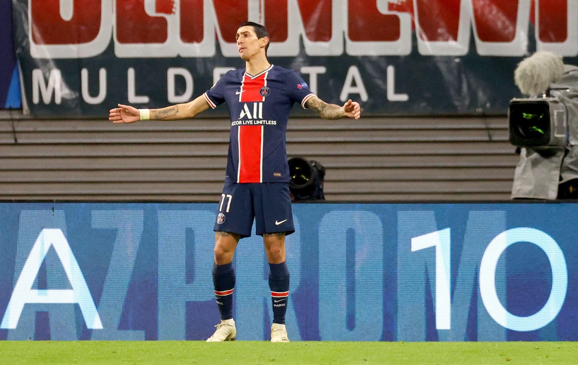 """Leipzig/PSG - Di Maria regrette """"quand on ne met pas les occasions au fond, on peut le payer"""""""