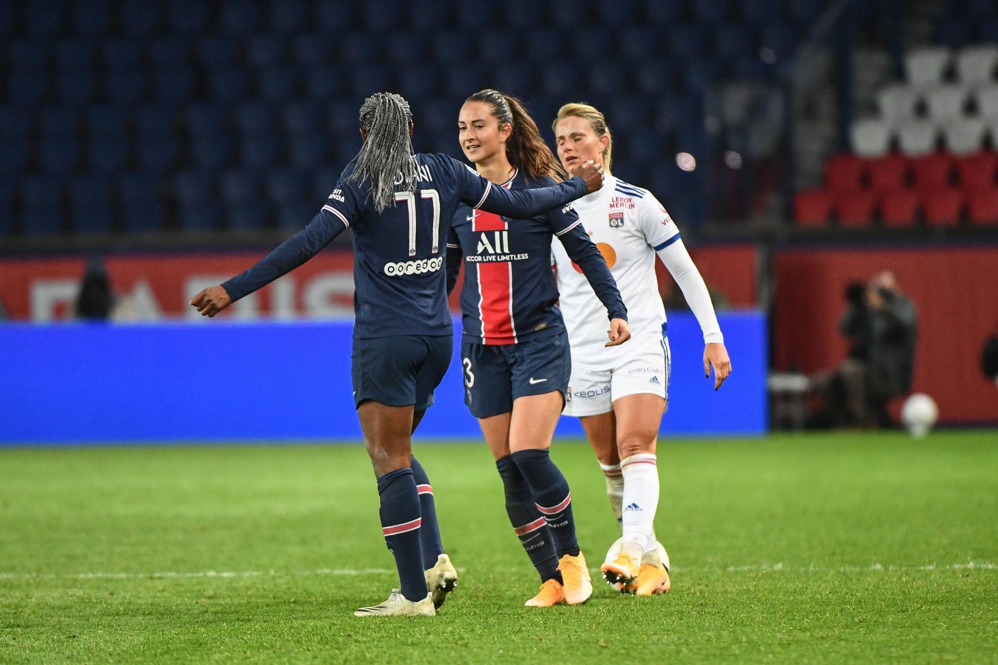 """Diani revient sur la victoire face à l'OL """"je suis très fière de l'équipe."""""""