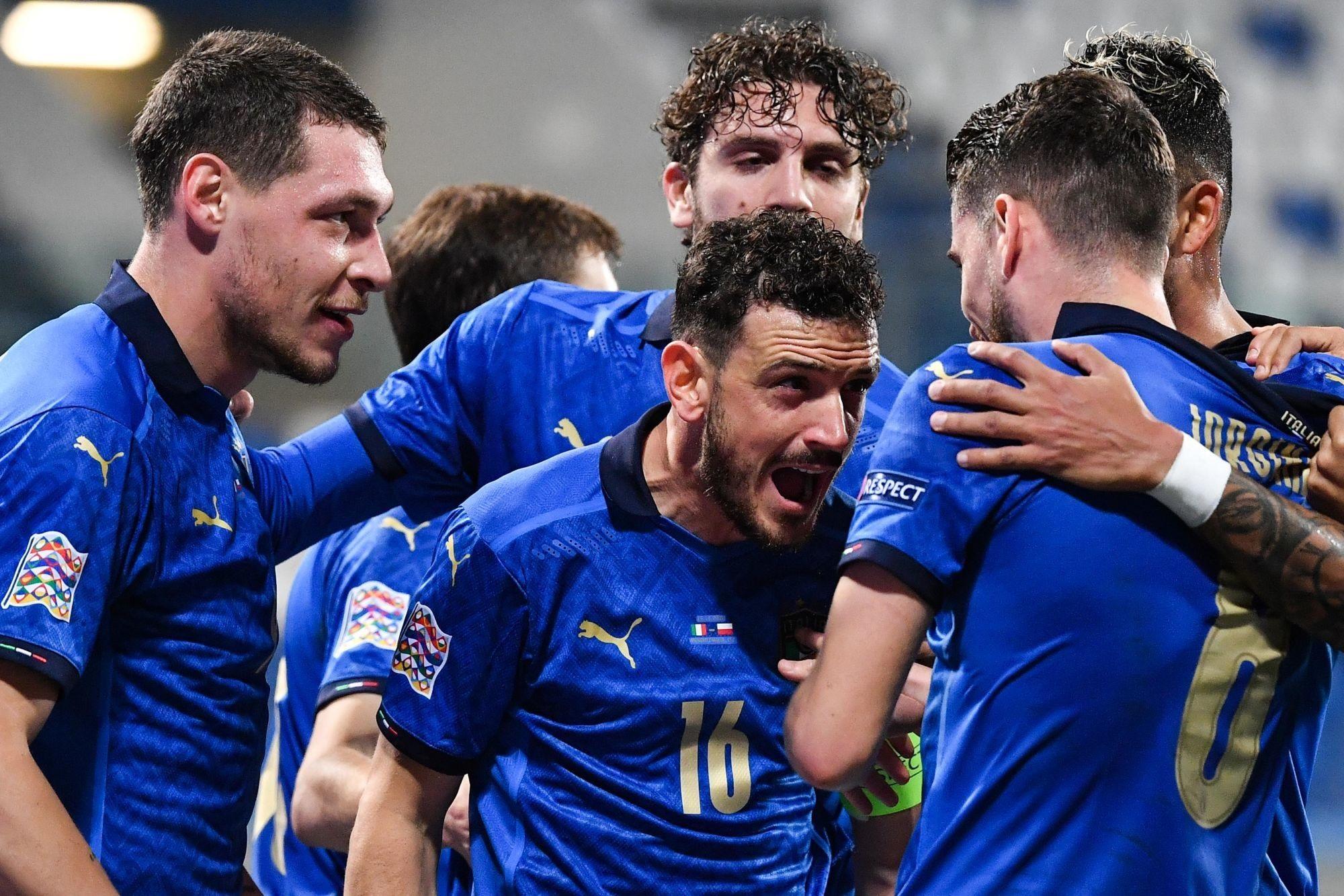 Florenzi a joué une mi-temps lors de la victoire de l'Italie contre la Bosnie