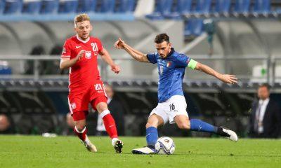 Florenzi capitaine et remplacé très tardivement lors la victoire de l'Italie contre la Pologne