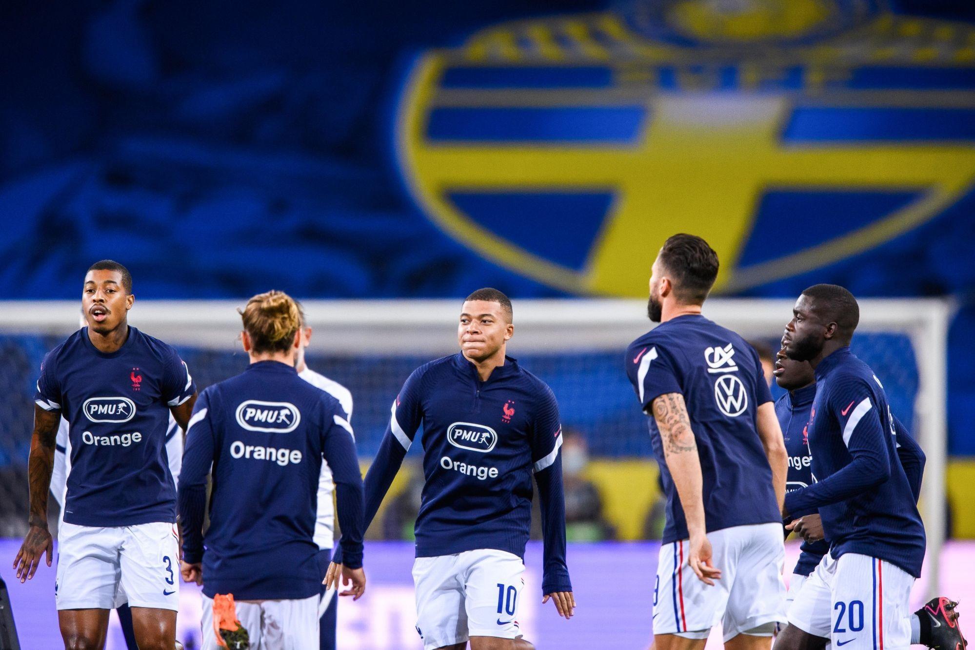 France/Suède - Les équipes officielles : Mbappé remplaçant, Kimpembe titulaire