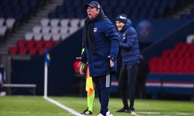 """PSG/Bordeaux - Gasset est """"heureux de l'état d'esprit"""" et du point pris"""