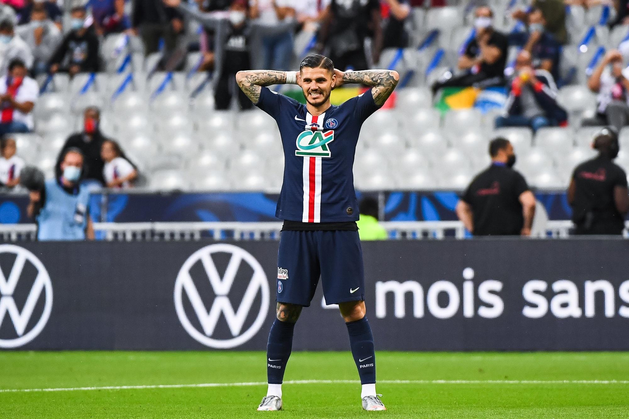 Officiel - Le PSG fait le point sur son infirmerie : Icardi forfait face à Leipzig