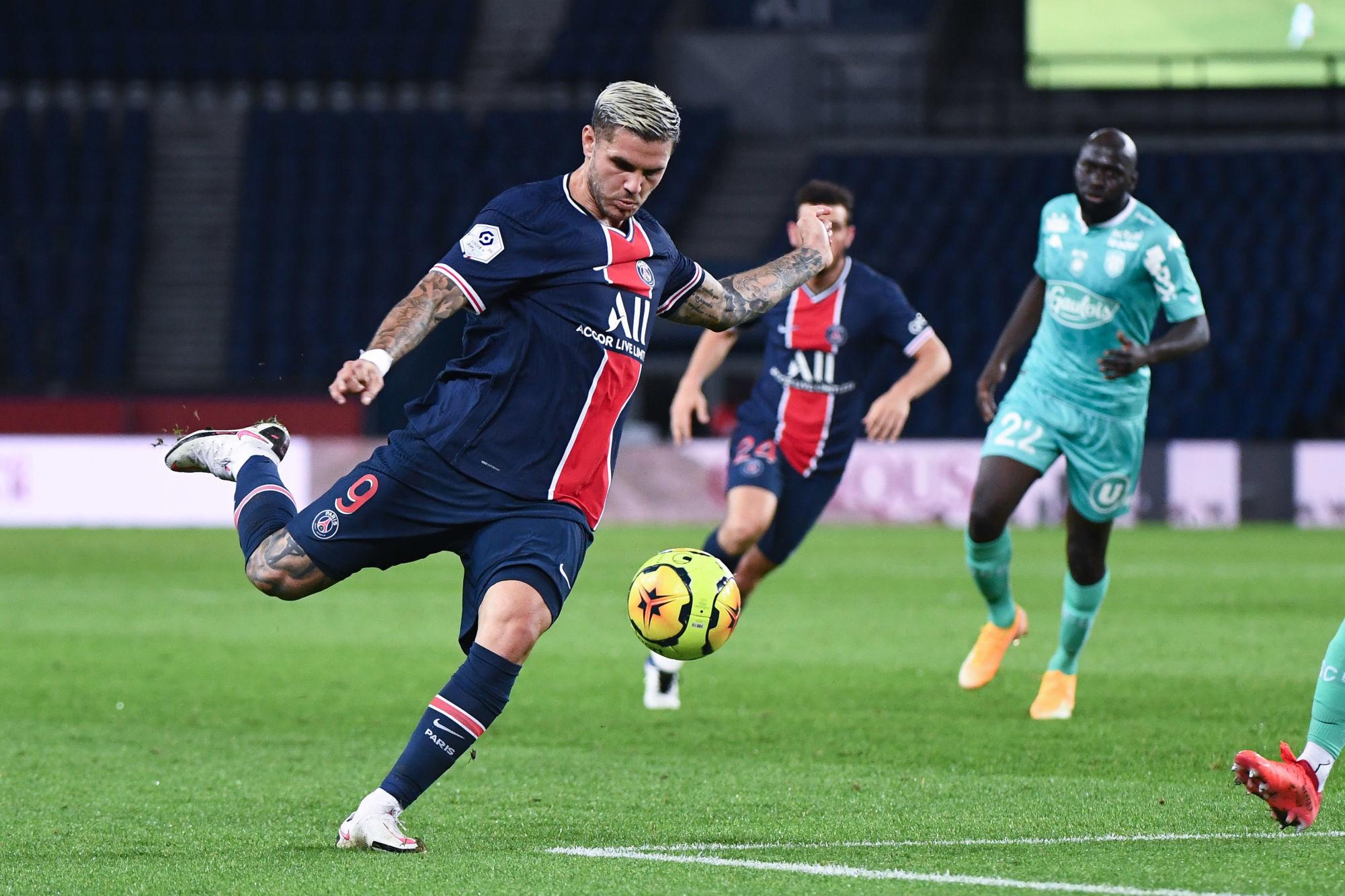 """Icardi évoque une Ligue 1 """"très physique, très dure», mais moins tactique que la Serie A"""