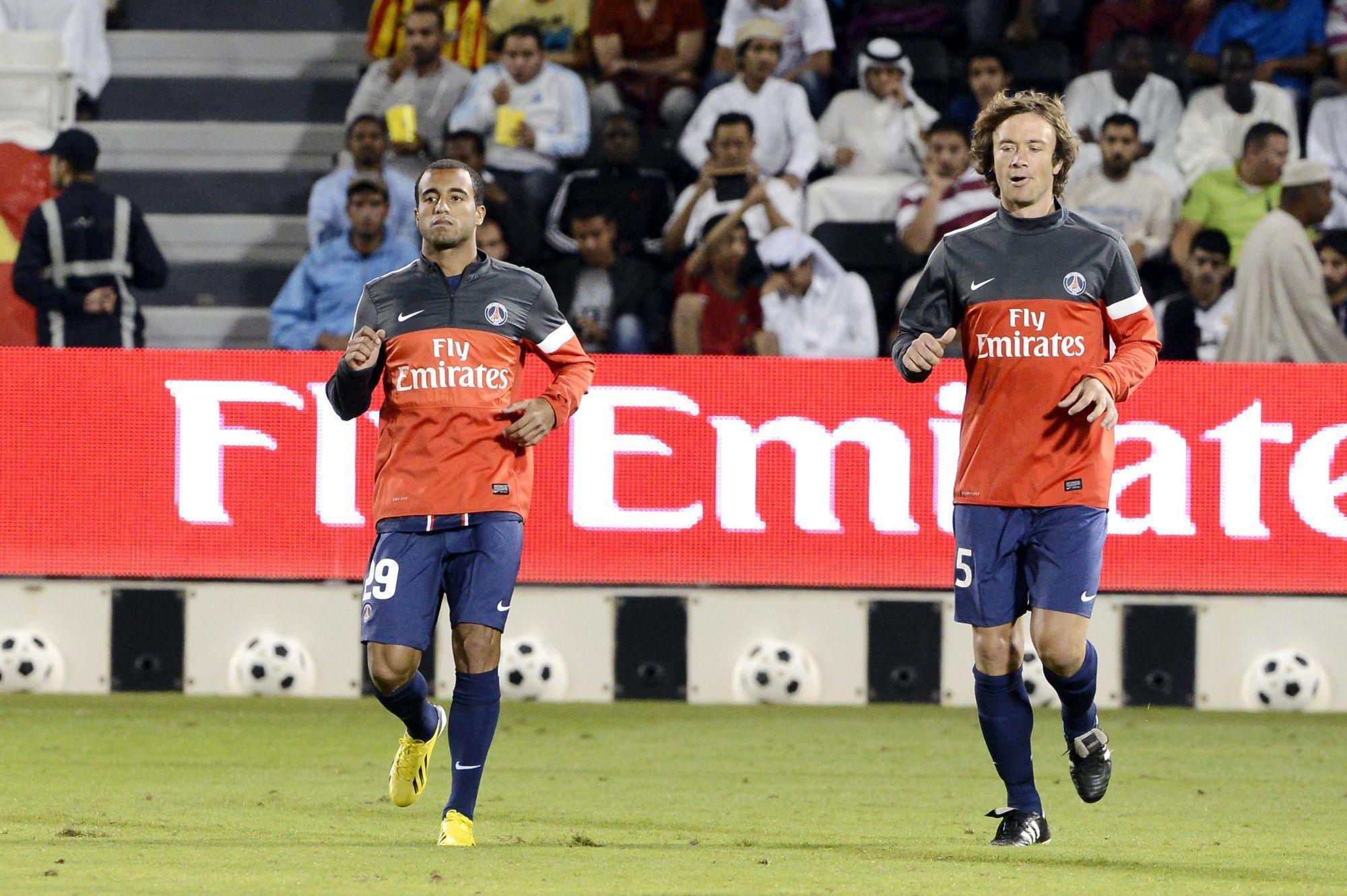 Lugano explique avoir beaucoup apporté au PSG au sein du vestiaire
