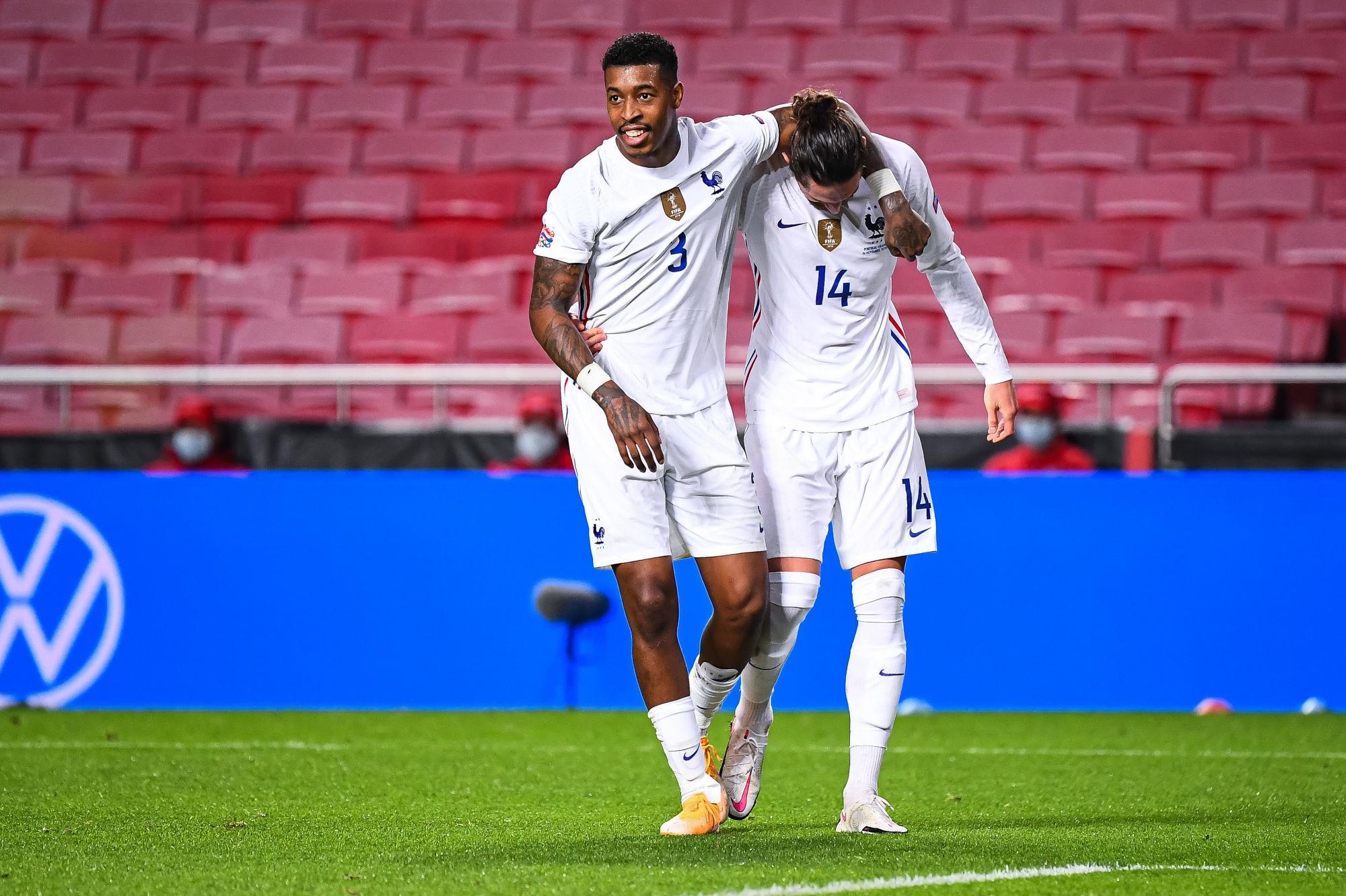 Kimpembe reçoit des compliments de la presse après Portugal/France