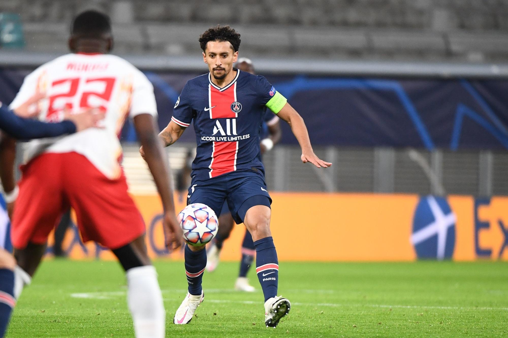"""Leipzig/PSG - Marquinhos souligne """"on doit augmenter notre niveau"""" et protège Tuchel"""