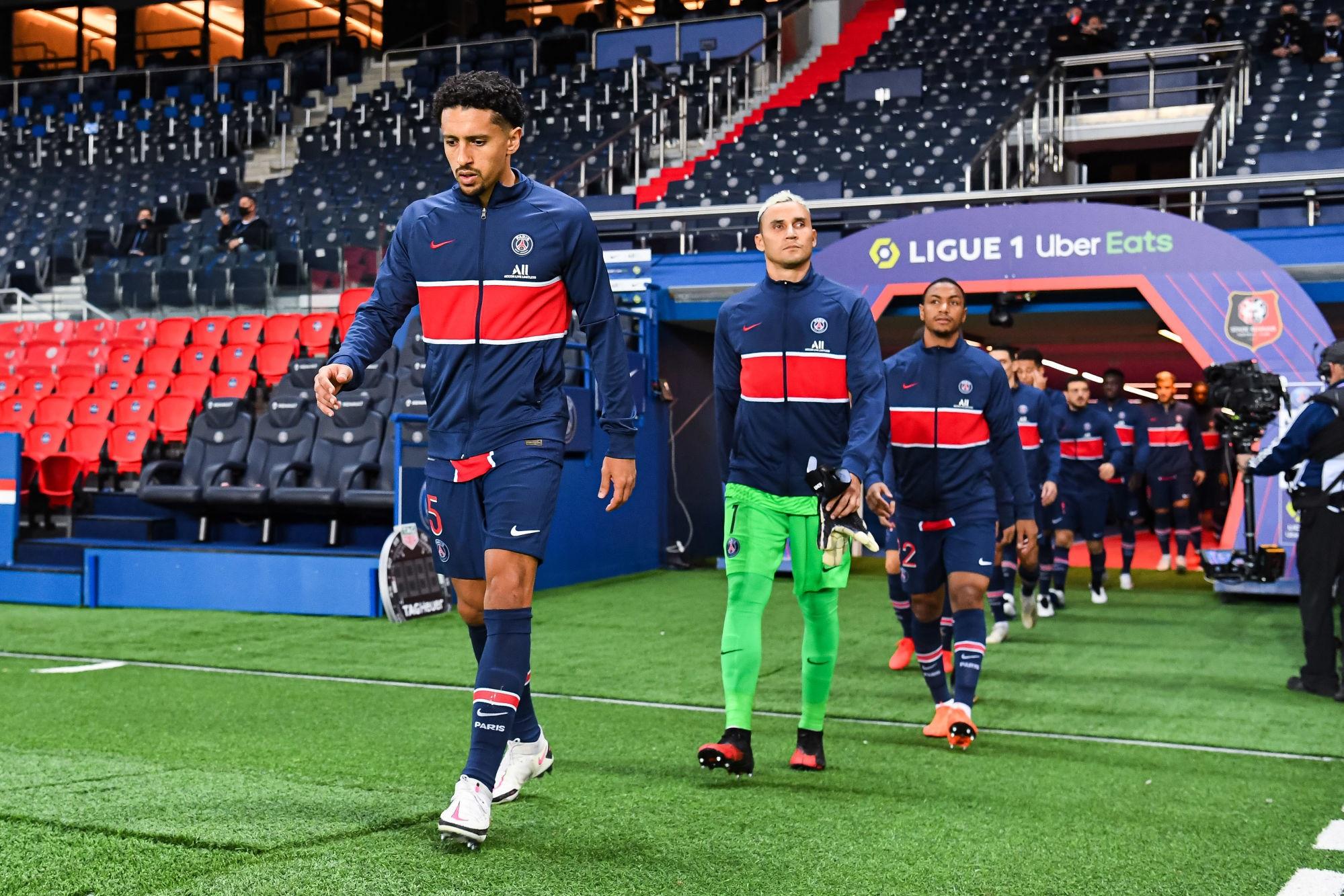 Manchester United/PSG - Navas et Marquinhos bien partis pour être prêts, selon L'Equipe