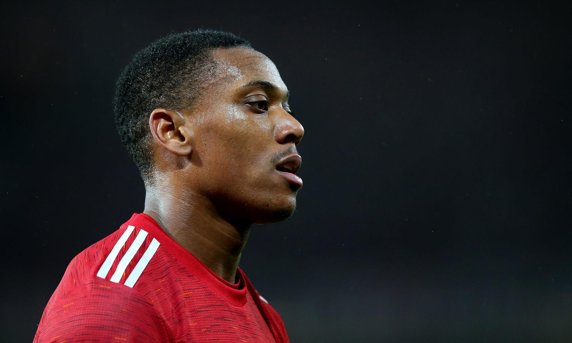 Manchester United/PSG - Martial n'a pas pu s'entraîner ce lundi