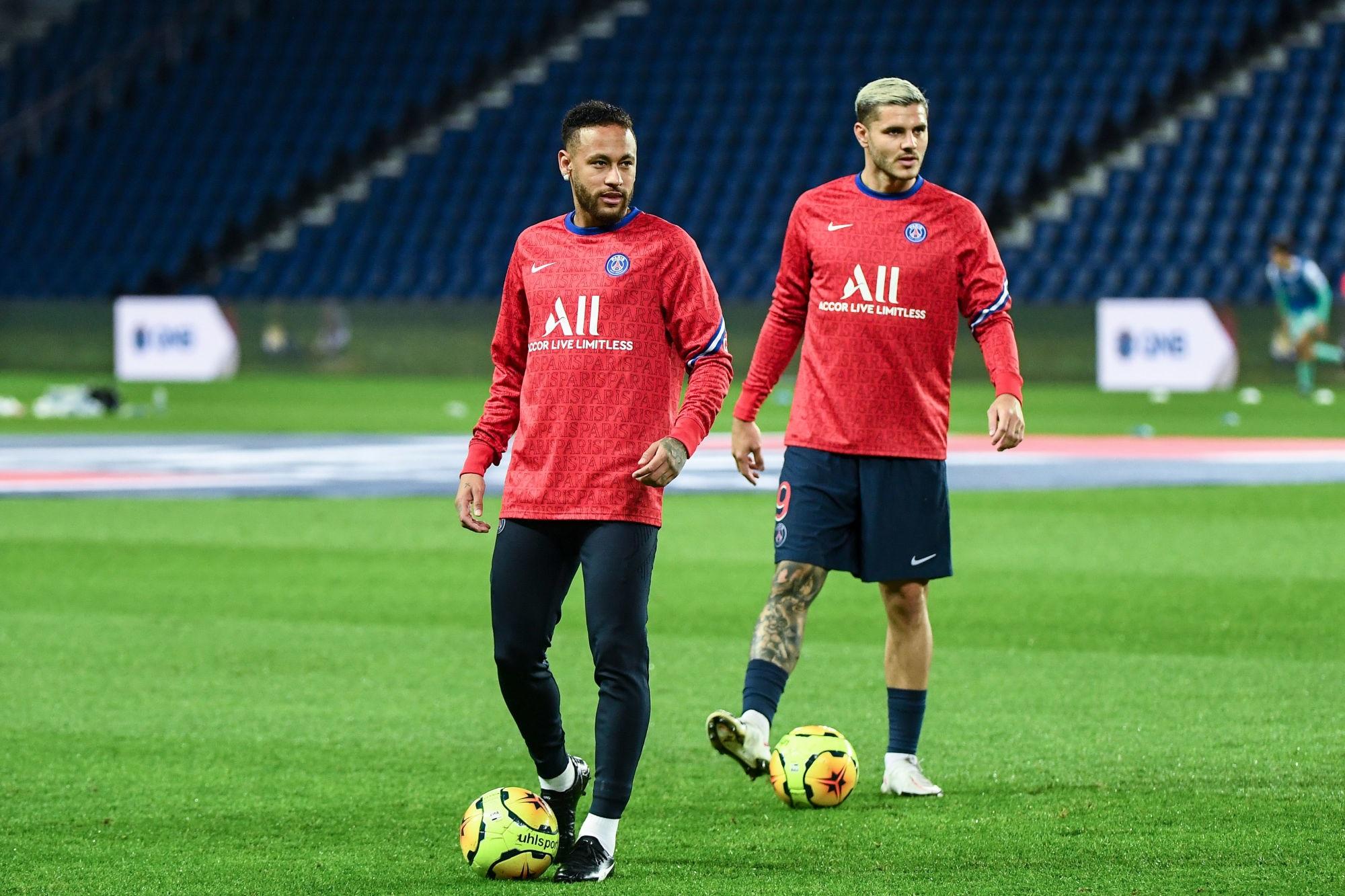 Neymar et Icardi sont aussi de retour à l'entraînement avec le PSG