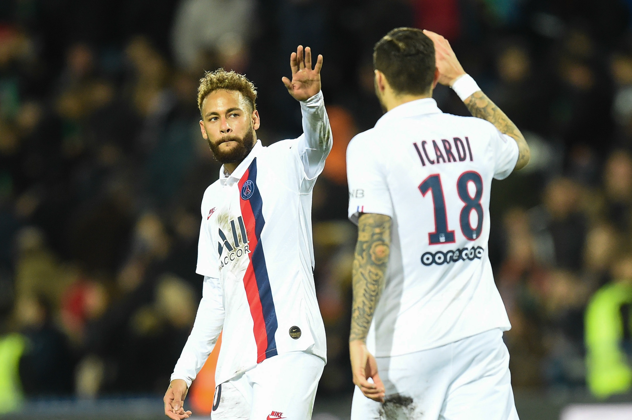 Neymar espère jouer lors de Monaco/PSG, Verratti et Icardi aussi d'après Le Parisien