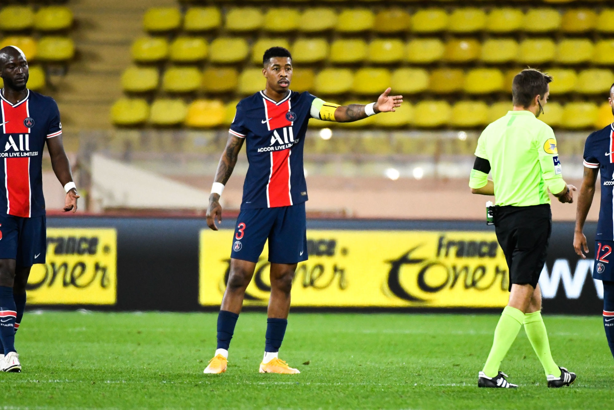 Monaco/PSG - Les notes des Parisiens : Kimpembe et Mbappé ont été trop seuls