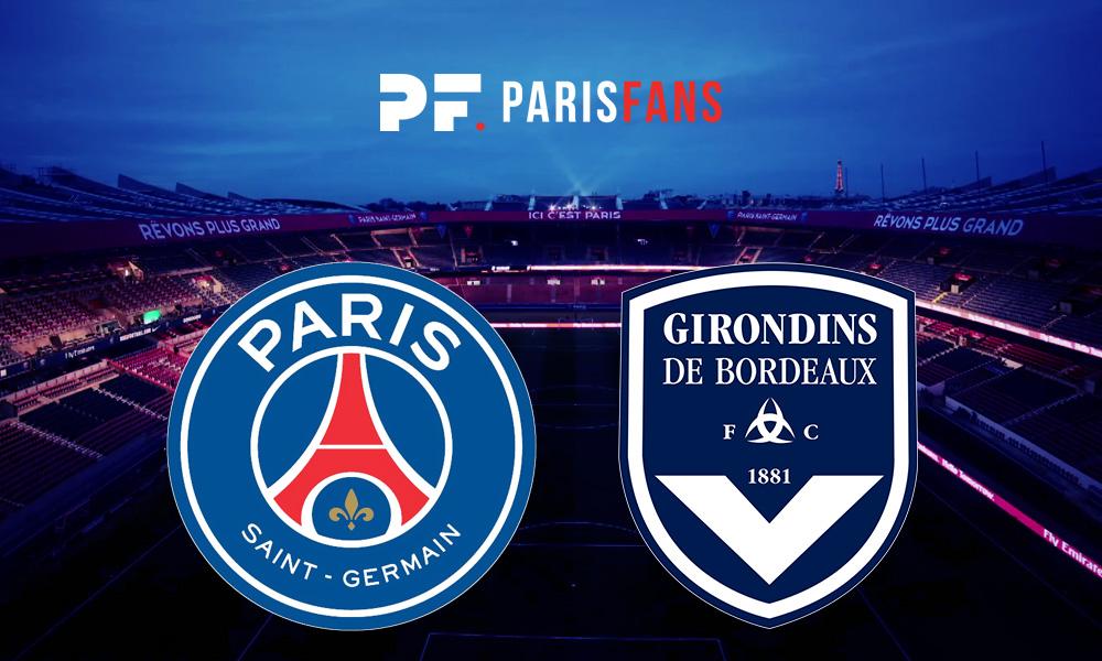 PSG/Bordeaux - Les équipes officielles : Verratti, Rafinha et Pembele titulaires