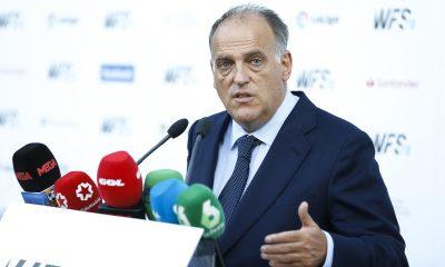 Tebas accuse le PSG et Manchester City pour la hausse des salaires dans le football