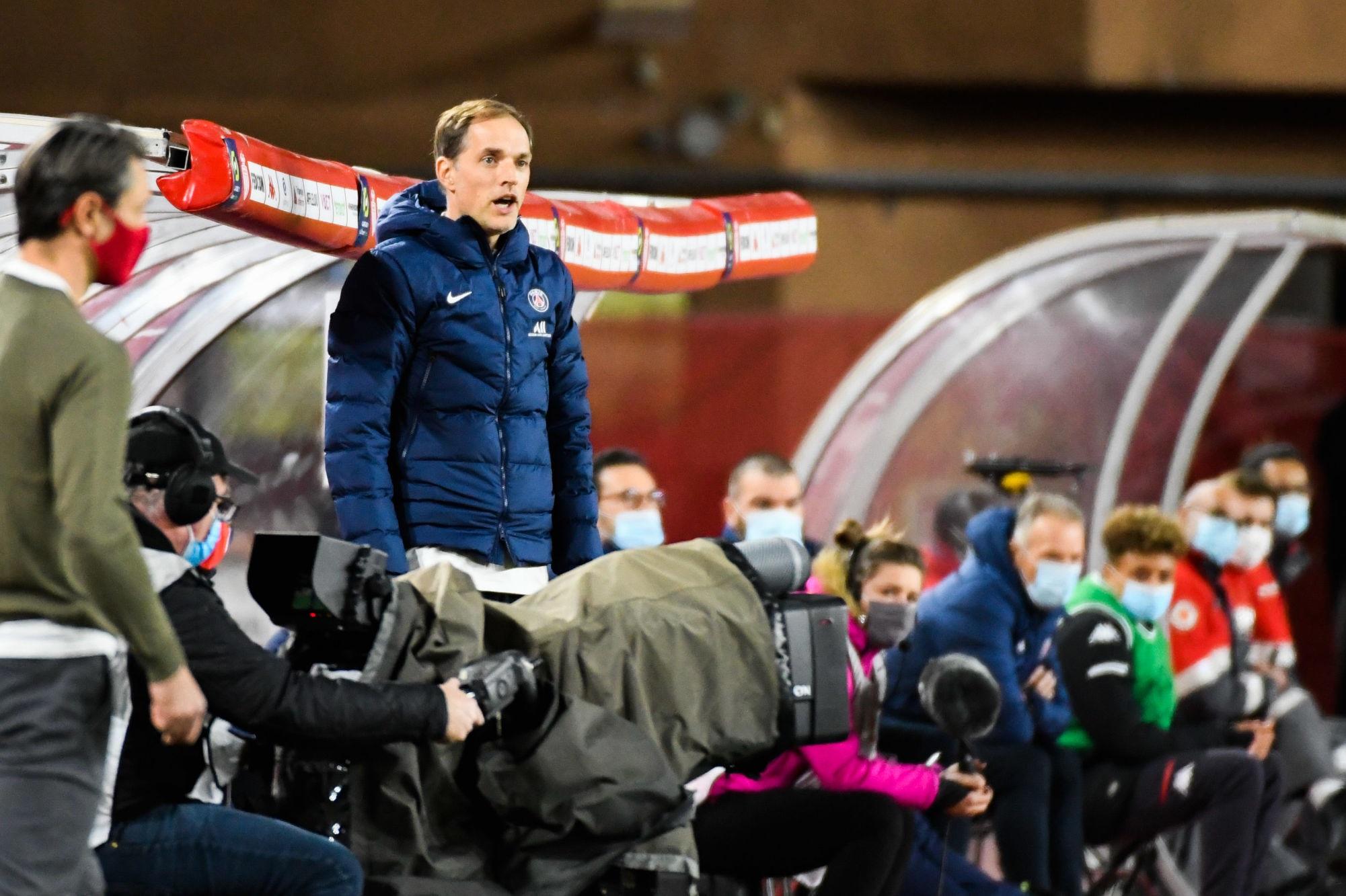 """Monaco/PSG - Tuchel ne """"sait pas"""" pourquoi Paris s'est relâché dans cette """"défaite bizarre"""""""