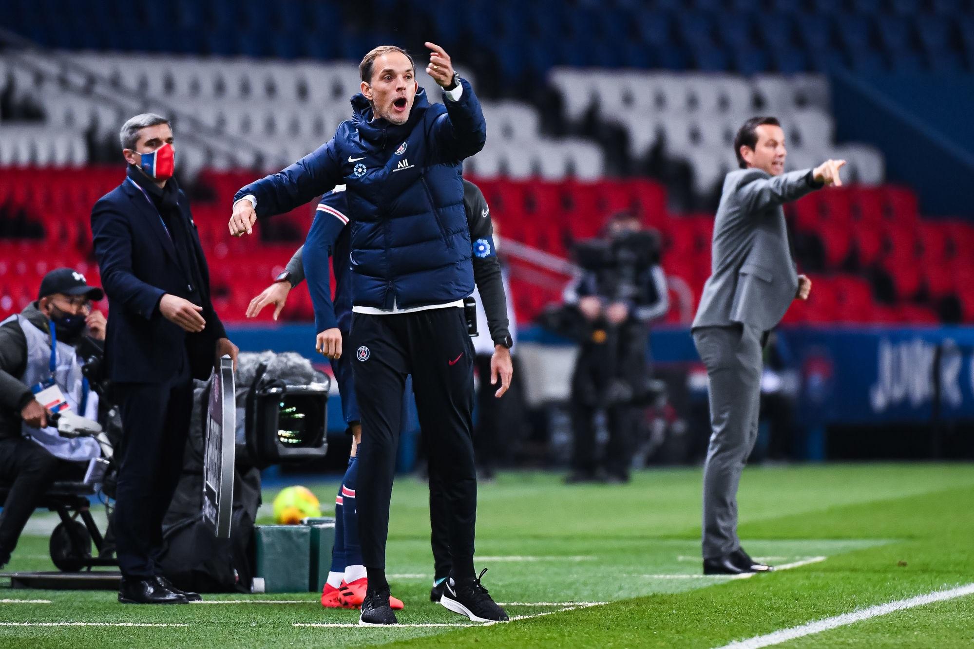 """PSG/Rennes - Tuchel se réjouit """"Les joueurs ont livré un grand combat"""""""