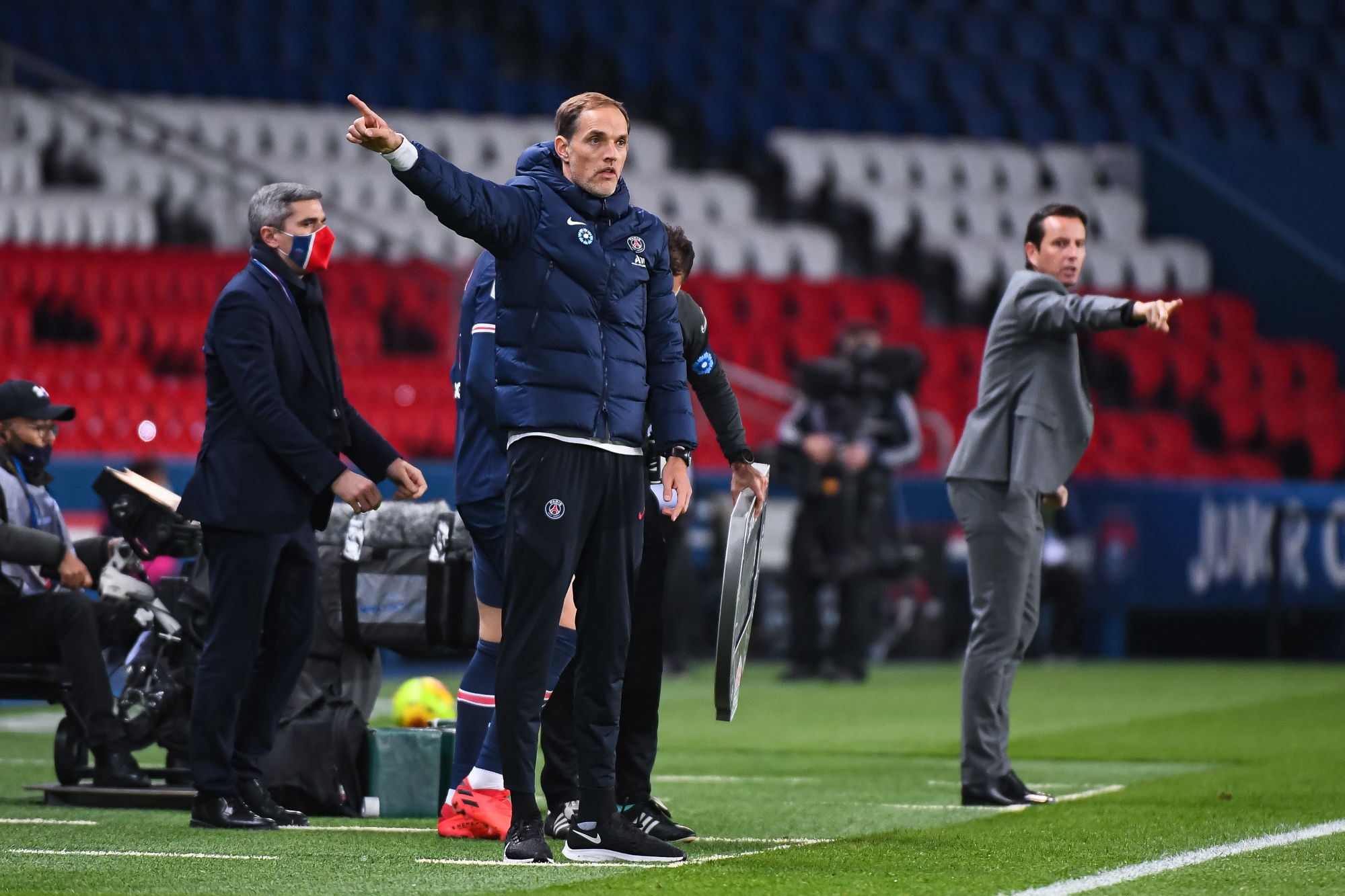 """PSG/Rennes - Tuchel est """"très fier"""" et évoque les difficultés physiques"""