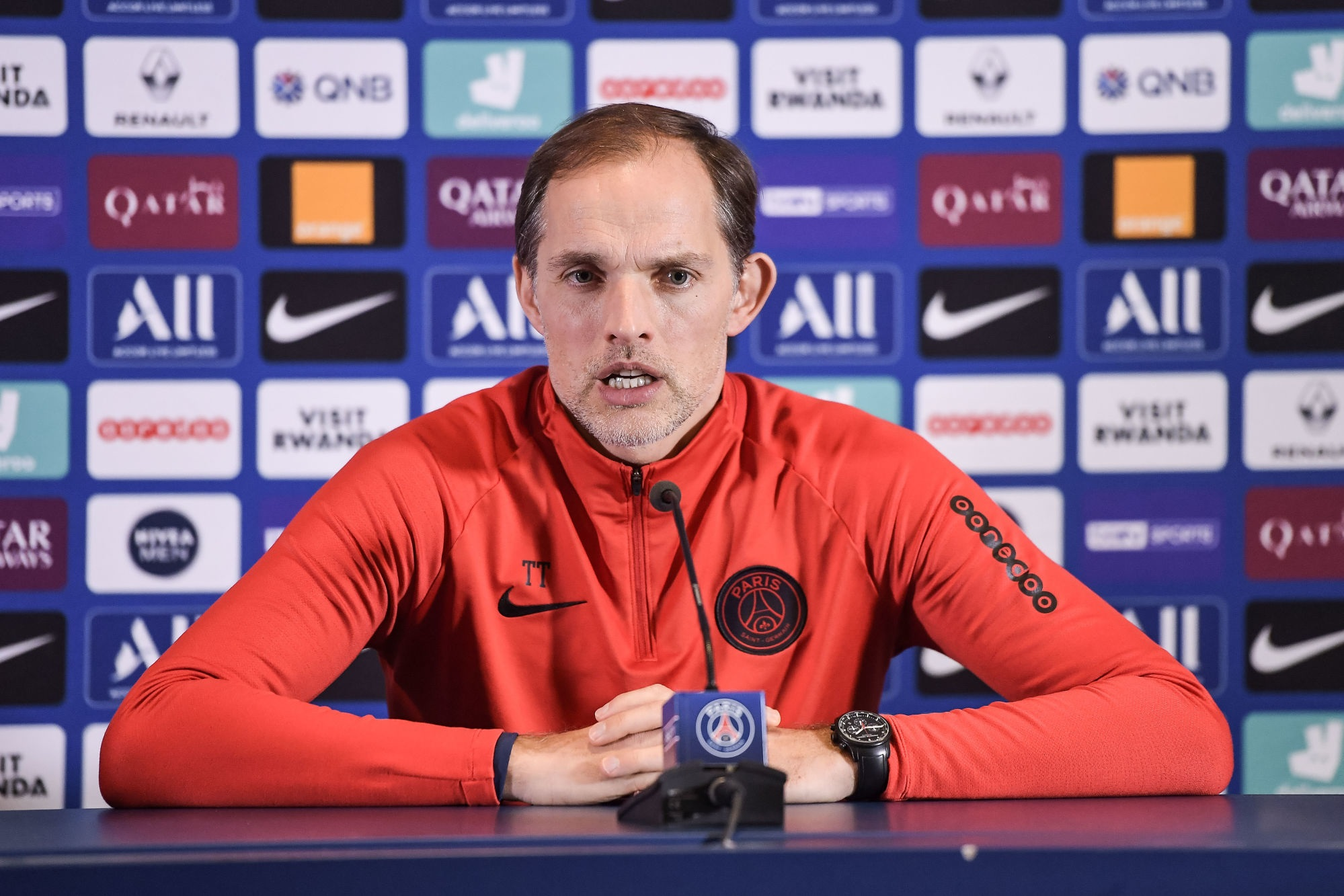 """Leipzig/PSG - Tuchel revient sur le match et assure que les """"critiques n'existent pas."""""""