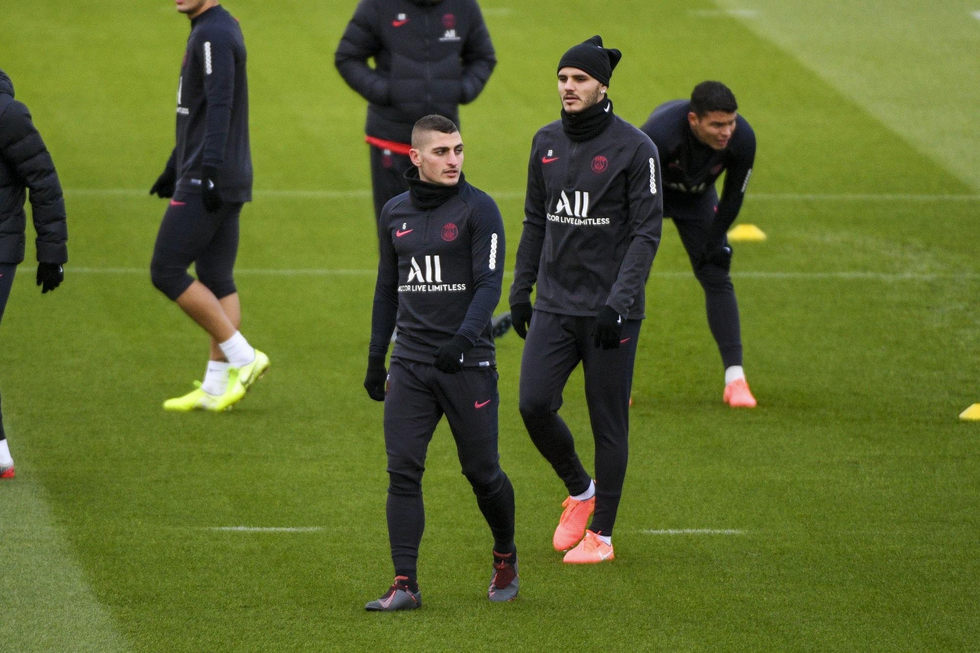 PSG/Leipzig - Herrera incertain, Verratti et Icardi espérés indique L'Equipe