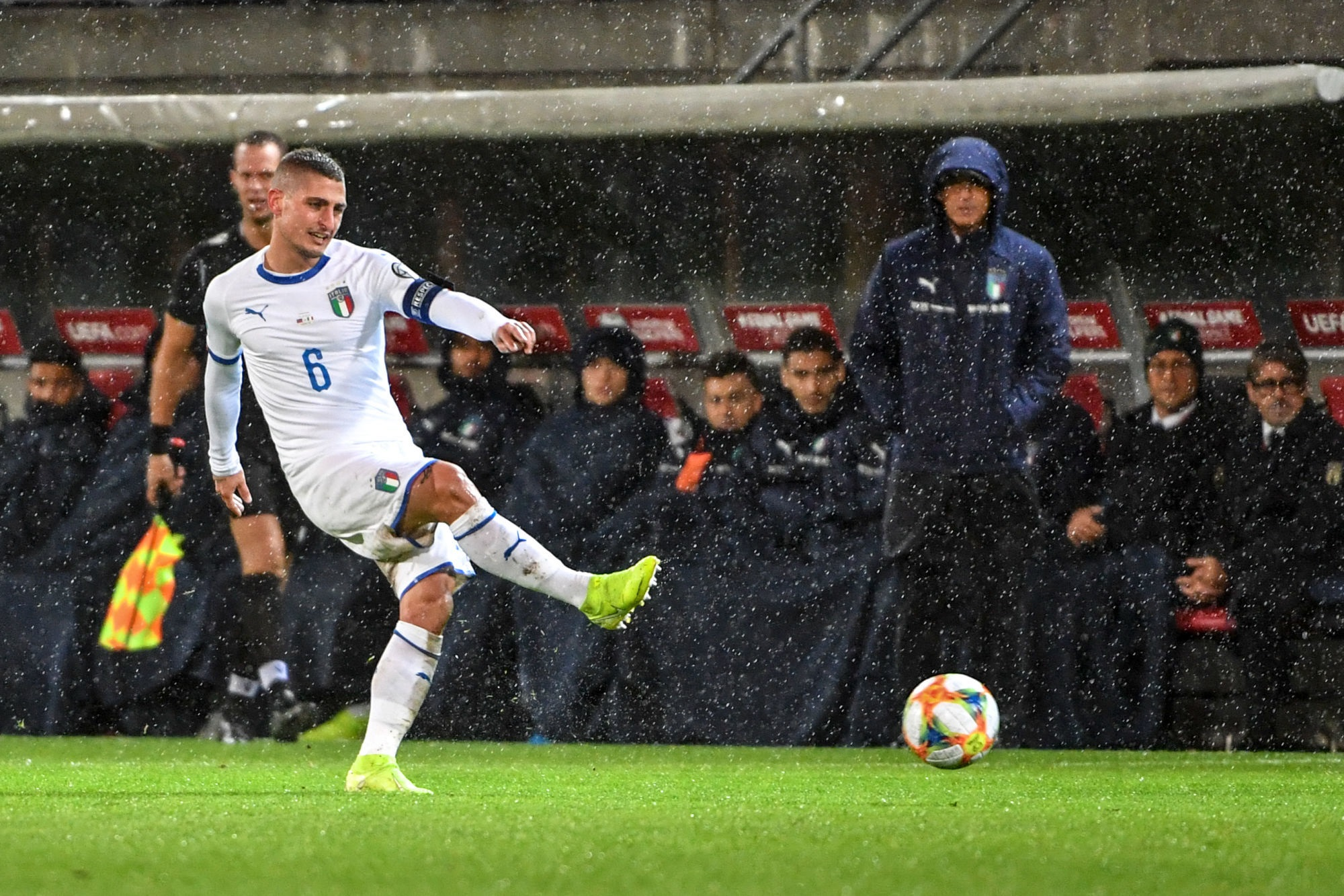 Mancini est confiant pour le retour de Verratti pour l'Euro