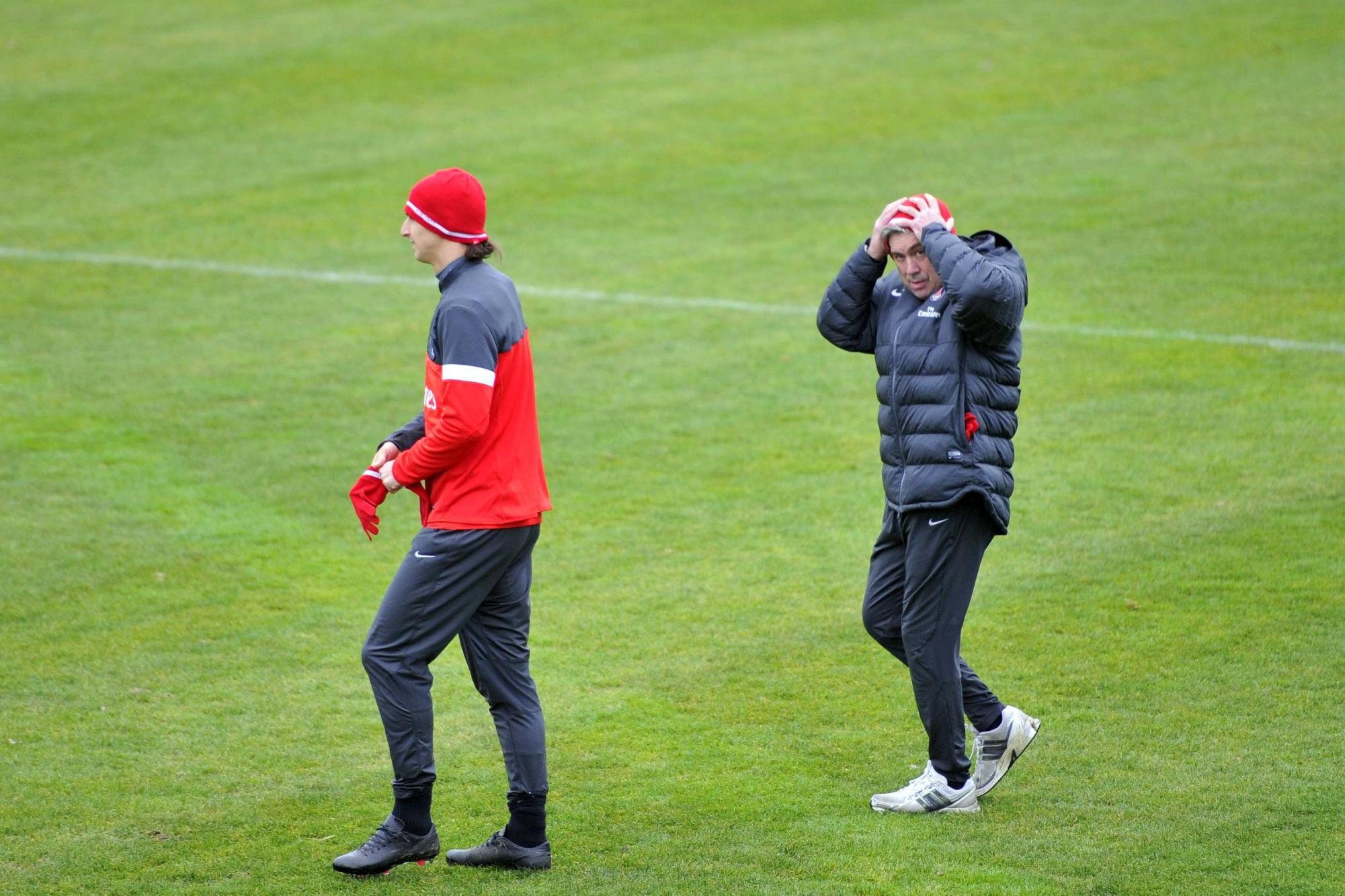 Motta revient sur la fois où Ancelotti a envoyé une bouteille dans la tête de Zlatan Ibrahimovic