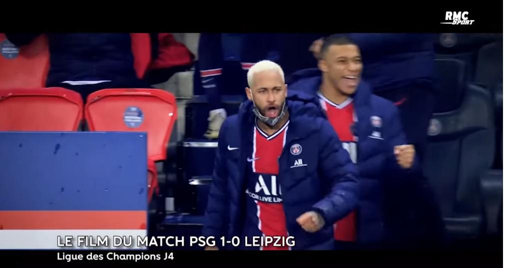 """LDC - Retrouvez le """"film"""" RMC Sport sur la victoire du PSG contre Leipzig"""