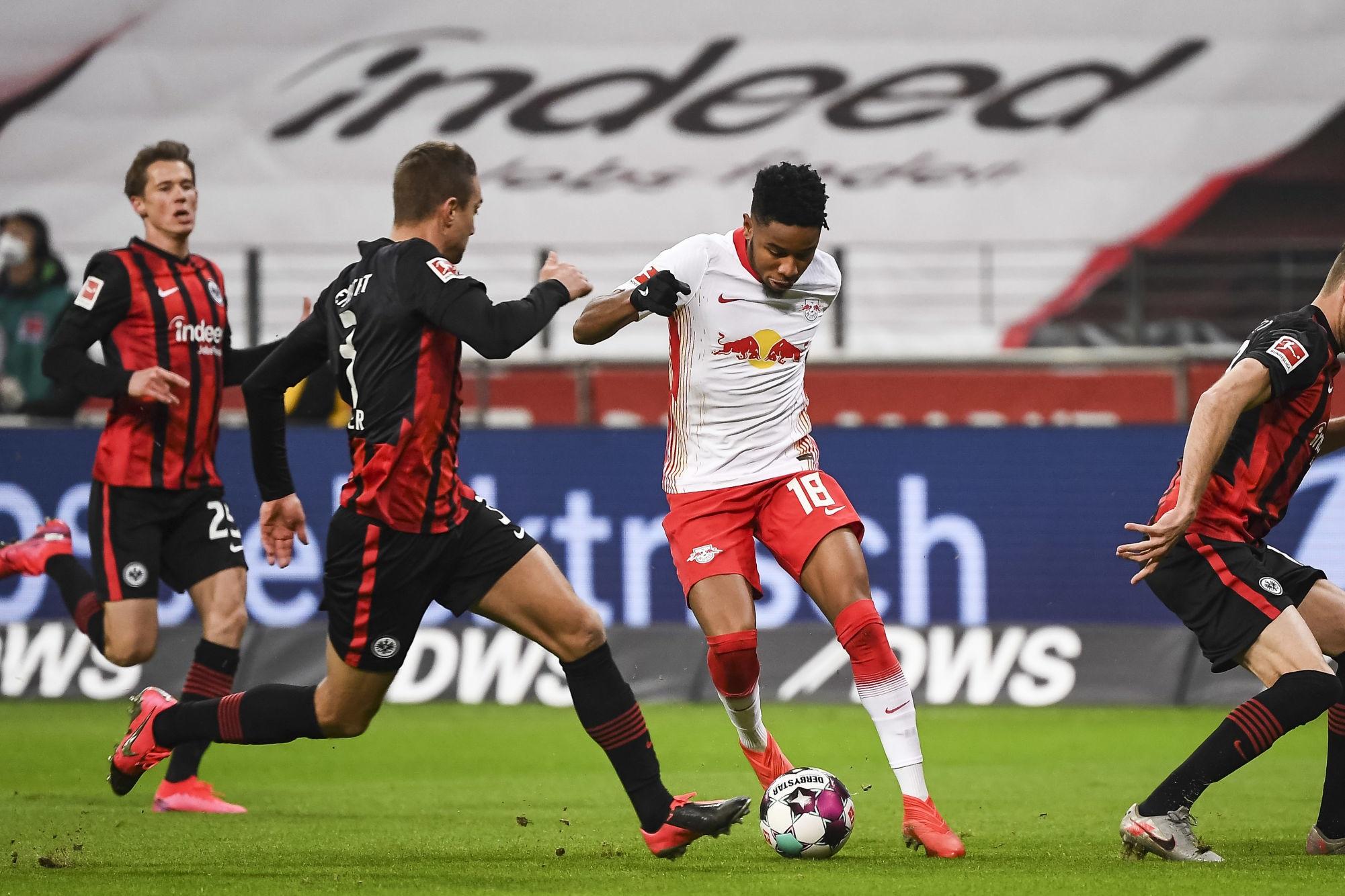 Leipzig concède le match nul à Francfort avant d'affronter le PSG