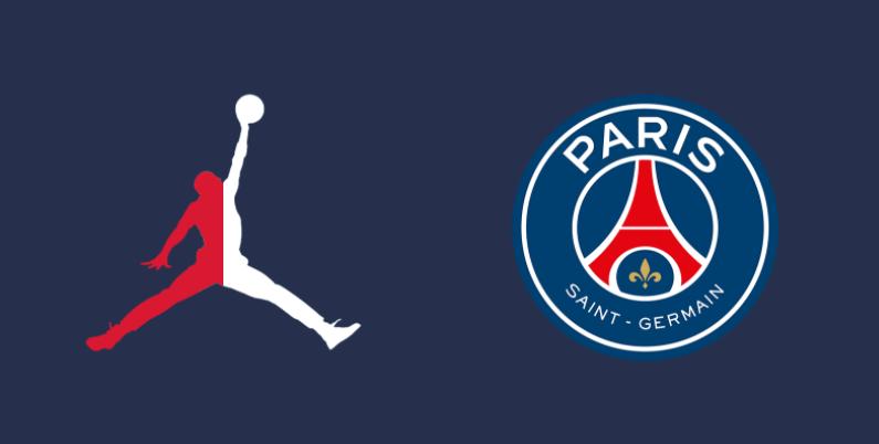 Le maillot domicile du PSG 2021 2022 avec le logo Air Jordan