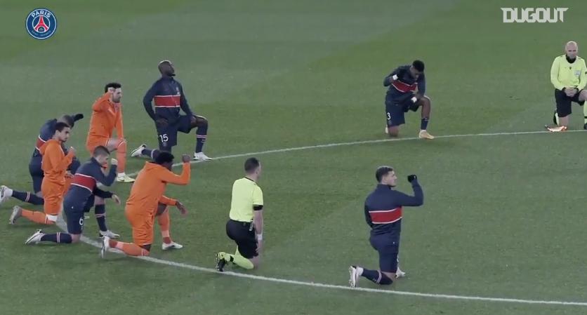 PSG/Istanbul - La vidéo du club parisien contre le racisme
