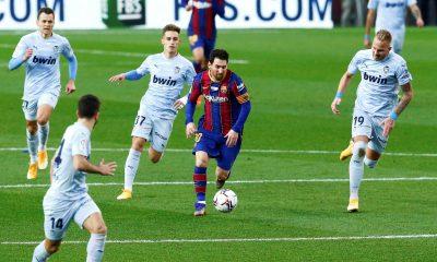 LDC - Le Barça, adversaire du PSG, concède le match nul 2-2 face à Valence en Liga