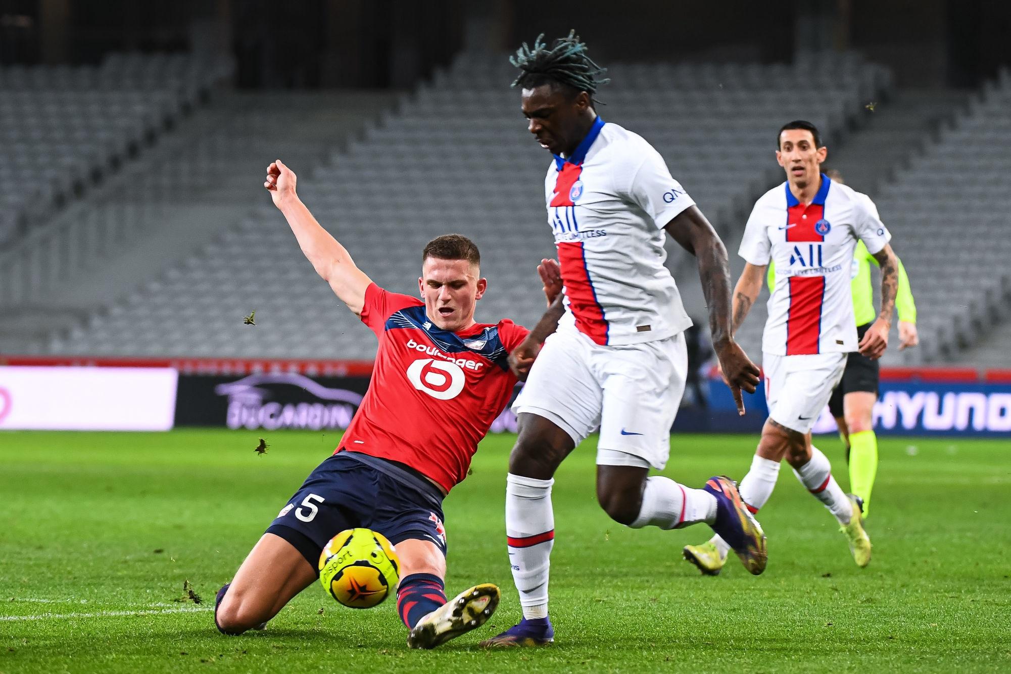 """Lille/PSG - Botman assure que """"Paris était le meilleure équipe"""", mais souligne le point pris"""
