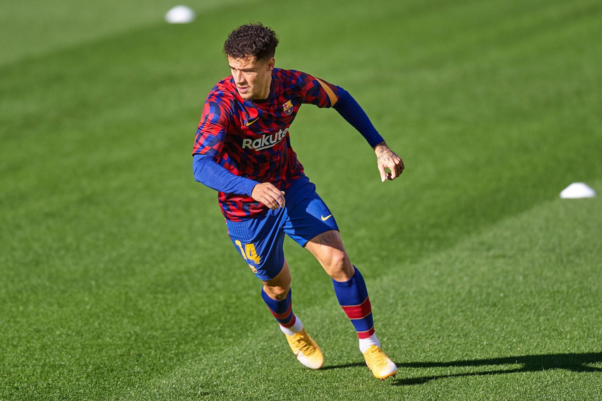 Philippe Coutinho blessé au genou et très incertain pour le 8e de finale de LDC face au PSG