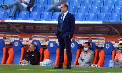 """Montpellier/PSG - Der Zakarian souligne que la """"pression"""" est sur Paris"""