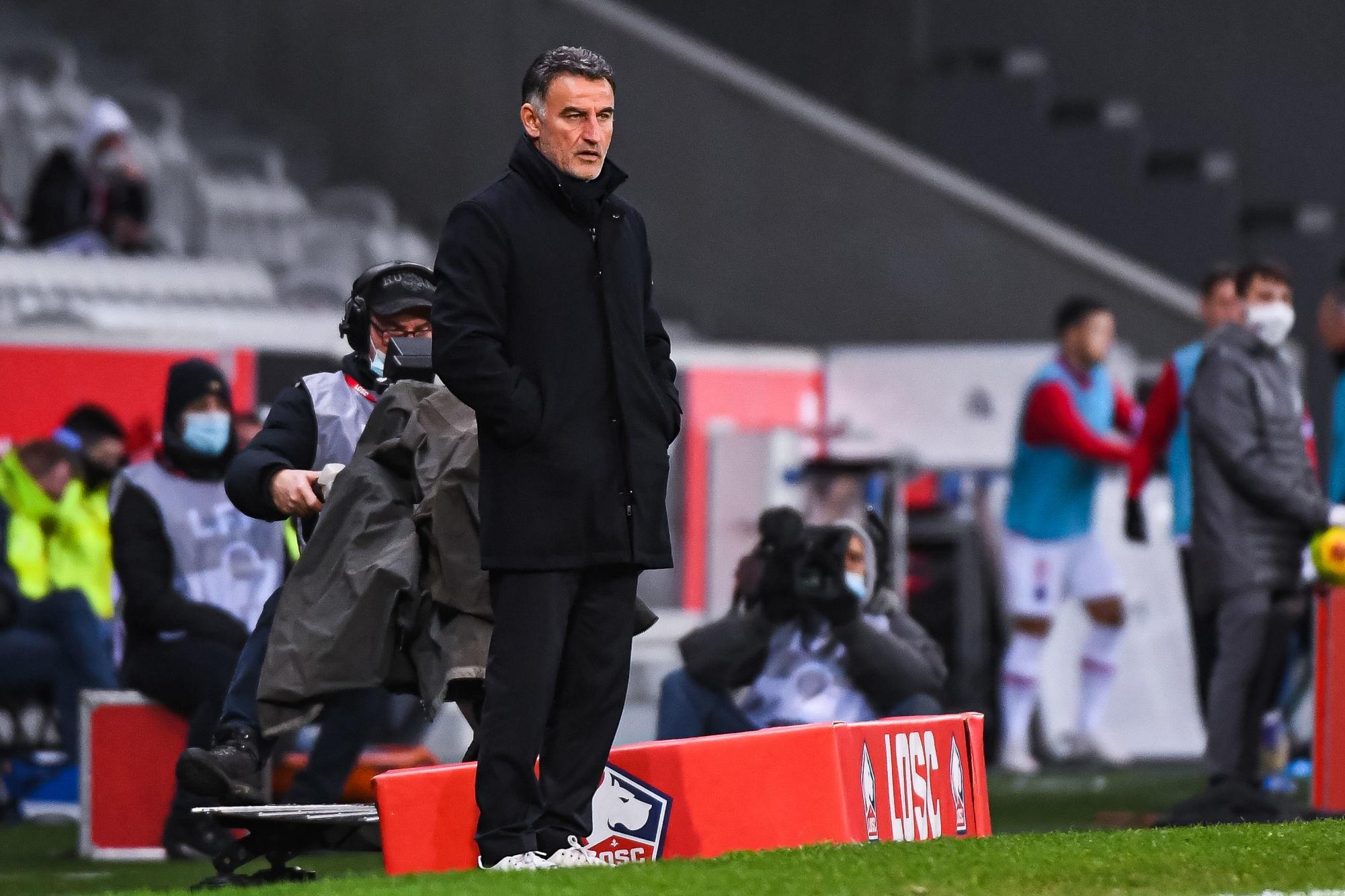 """Lille/PSG - Galtier souligne que c'est un """"bon résultat face à une bonne équipe"""""""