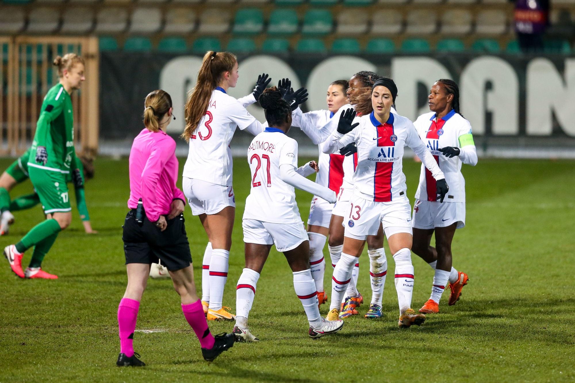 UWCL - Le PSG fait un pas vers la qualification face au Gornik Leczna
