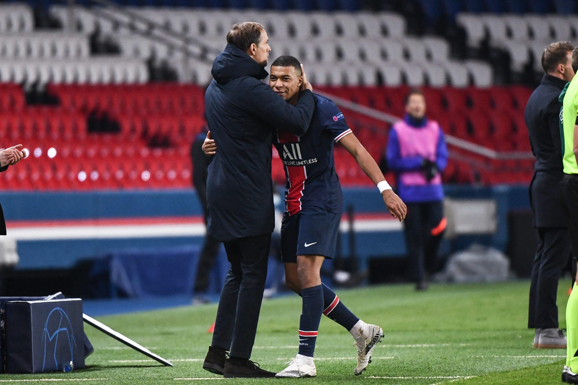 """Mbappé remercie Thomas Tuchel """"personne n'oubliera votre passage ici"""""""